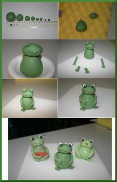 Anleitung für einen Frosch