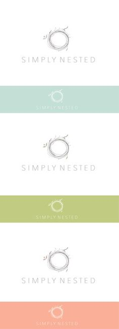 Create a sophisticated logo for Simply Nested, an interior design blog and consulting service by GoodEnergy