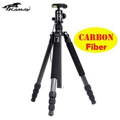 86.90$  Watch now - http://alio5h.worldwells.pw/go.php?t=32786276613 - Special Offer Carbon Fiber Tripod Kamay km-345 Professional Photography Tripod Ball Head For DSLR Camera Portable Tripod