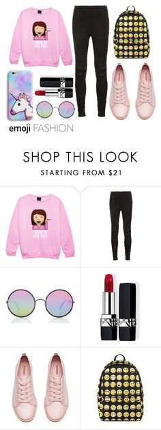 """""""#29"""" by twist3d-ang3l on Polyvore featuring Yves Saint Laurent, Sunday Somewhere, Christian Dior and H&M"""