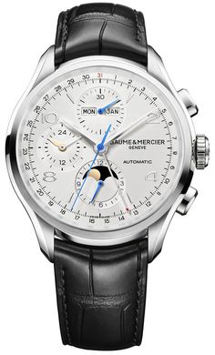 Baume et Mercier Clifton Chronograph Complete Calendar - Функциональная новинка от Бом & Мерсье | Luxurious Watches