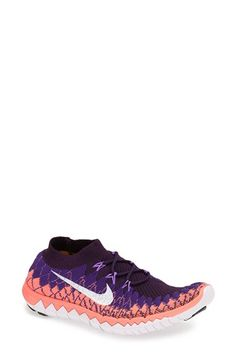 Nike 'Free Flyknit 3.0' Running Shoe (Women) available at #Nordstrom