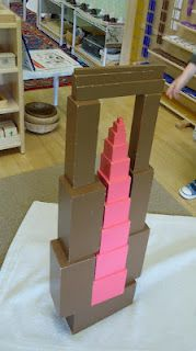 Pink Tower and Brown Stair Exploration