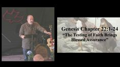 The Testing of Faith, Brings Blessed Assurance - Genesis 22:1-24 (11 26 ...