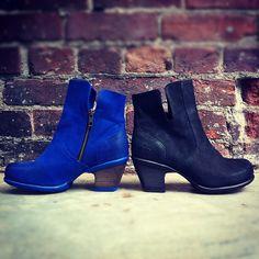 I think I need these Blue Fluevogs!