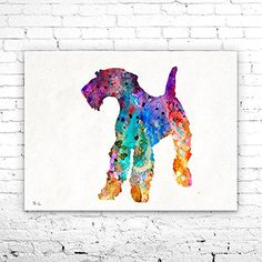 Airedale Terrier 3 Watercolor Print, Airedale Terrier art, Home Decor, dog watercolor, watercolor painting, Terrier art, animal watercolor. Airedale Terrier 3 Watercolor Print, Airedale Terrier art, Home Decor, dog watercolor, watercolor painting, Terrier art, animal watercolor, My prints are made in my own art studio by me, using Epson Pigment Inks, which are tested and guaranteed not to fade for at least 100+ years and fine art watercolor paper. I use Epson best wide format printers! If...