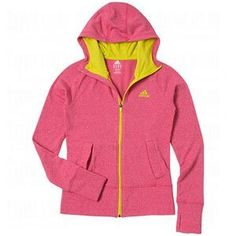 Adidas climawarm ult full zip hoody pink xs by adidas. $44.98. adidas Ladies ClimaWarm Hoody...Meet & Exceed The Demand Because Your Workout Goes Beyond Ordinary! Designed specifically for the female athlete to conquer perspiration during training and focus on the goals at hand. adidas Ladies ClimaWarm Ultimate Full-Zip Hoody features: Great for the gym or casual wear ClimaWarm technology keeps you cozy and warm in cold weather Support your muscles with TechFit durin... Exceed, Full Zip Hoodie, Female Athletes, Hoody, Cold Weather, Muscles, Casual Wear, Hooded Jacket, Sportswear