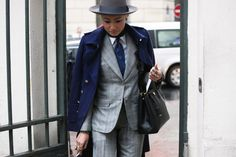 Esther Quek (I wouldn't do the hat or overcoat, but I love her suit and tie) from http://www.afropunk.com/profiles/blogs/black-fashion-by-javii-stylish-women-in-menswear