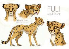 tlk | Tumblr Cute Animal Drawings, Animal Sketches, Cartoon Drawings, Cute Drawings, Big Cats Art, Furry Art, Cat Art, Cheetah Drawing, Furry Drawing