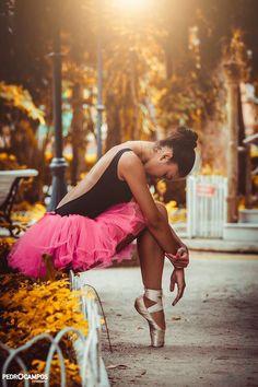Ballerina. Ballet beautie, sur les pointes !