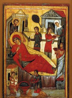 024- Natividad de la Santísima Virgen María-Mediados XIV