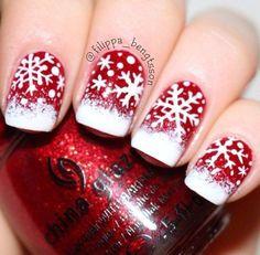Pretty Winter Nail Art Ideas