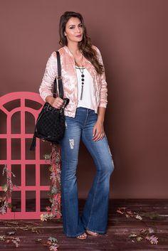 #debrummodas #coleção #calça #flare #jeans #blusa #bomber #veludo #molhado #modafeminina #moda #fashion #style #estilo