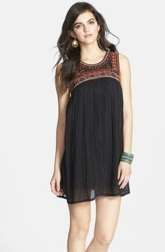 Free People Embroidered Bib Cotton Shift Dress | Nordstrom, How would you style this? http://keep.com/free-people-embroidered-bib-cotton-shift-dress-no-by-hannah_joseph/k/0AgRjuABN8/