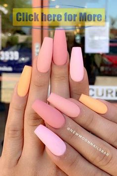 """125 years of fingernail trends Your grandma's pointed nails from the might actually be cooler than Kylie Jenner's.""""},""""description"""":""""Your grandma's pointed nails from the might actually be cooler than Kylie Jenner's. Simple Acrylic Nails, Acrylic Nails Coffin Short, Summer Acrylic Nails, Best Acrylic Nails, Summer Nails, Colorful Nails, Simple Nails, Acrylic Nails Orange, Acrylic Nail Designs Coffin"""