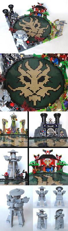 Amazing #LEGO Ninjago Dragon Arena