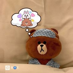 Cony Brown, Brown Bear, Cute Love Gif, Tu Me Manques, Brown Line, Romantic Night, Sleep Well, Line Friends, Love Gifts