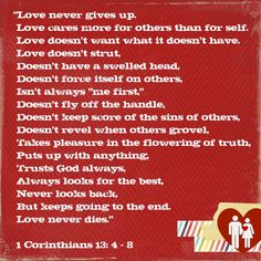 here is my ode to valentines... from the Lord.  (Thanks, Meg!)