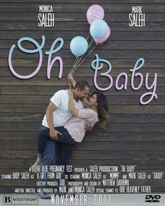Pregnancy announcement movie poster