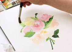 The Alison Show: Watercolor Tutorial part 2: Blending