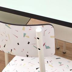 Arts And Crafts Office Furniture Simple Furniture, Furniture Logo, Furniture Design, Kitchen Furniture, Luxury Furniture, Office Furniture, Furniture Decor, Terrazzo, Refurbished Furniture