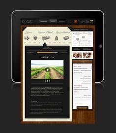 WineConnected Platform  http://www.behance.net/gallery/WineConnected-Platform/2987393