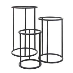 The Cachet Plant stand - simple clean black metal plant holder available in three sizes. Bring your plants to new heights with this sleek circular addition to your collection. Buy Plants, Potted Plants, Telephone Table, Drawer Runners, Iron Plant, Wood Construction, Indoor Air Quality, Wood Species, Flower Pots