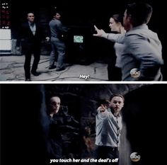 Fitz making threats for his girl << you GO Fitz! *fangirls and dies*