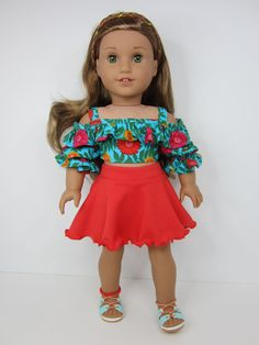RESERVED for Gina. American girl doll clothes by JazzyDollDuds