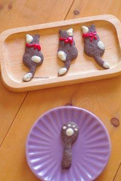 cat cookie ★ More on #cats - Get Ozzi Cat Magazine here >> http://OzziCat.com.au ★