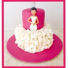 Despedida solteira Casamento  Bolo decorado Cakedesign  Noiva