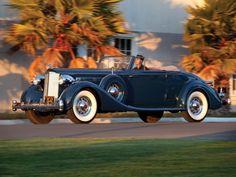 Packard Twevle Dietrich Coupe Roadtser 1934