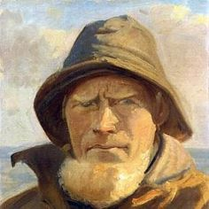 Michael Peter Ancher (1849-1927): A Fisherman