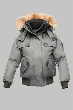 Nobis Women's Audrina Bomber Jacket Grey