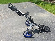NEW!  AristoCart with Sun Mountain Parts, Electric powered Golf Cart Caddy
