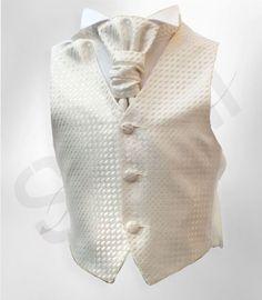 Page Boys Cream Ivory Waistcoat Cravat And Hanky Set, Boys Wedding Waistcoats Boys Waistcoat, Cravat, Boys Tuxedo, Tuxedo Suit, Boys Formal Wear, Wedding Waistcoats, Cream Suit, Dark Blue Suit, Brown Suits