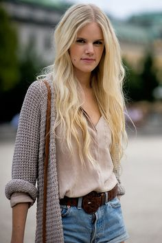 love the blouse and sweater