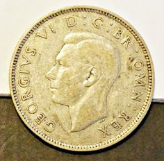 Rare Silver Coin 1938 Great Britain Florin, Two Shillings, Excellent Condition: Very Fine Details Visible  http://www.amazon.com/gp/product/B00JY0EXEQ/?tag=p1nt-20