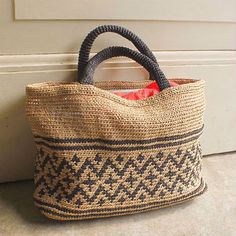 [Envelope Online Shop] Crochet Tote Kit/MOORIT