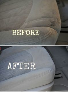 DIY cleaning car upholstery & carpet