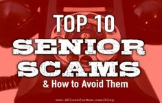 Scammers are evil but not stupid. They prey on targets of opportunity. Seniors are often vulnerable to cons because of cognitive problems that can impair judgment.