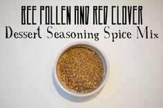 Bee Pollen and Red Clover Dessert Seasoning Spice Mix