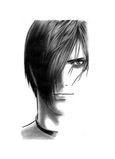 Iori Yagami of King Of Fighters Iori is my favorite character in KOF I grew my hair just like his before.. hehehe.. Took around 2-3hours used a 0.5 mechanical pencil and a kneaded eraser Iori Yagam...