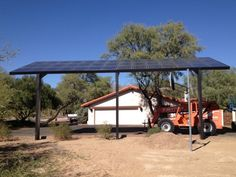 Gallery - Solar Carports and Solar Canopies - Solar Shade Structures