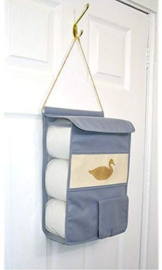 Diy Crafts - Free delivery and returns on all eligible orders. Loo Roll Holders, Toilet Roll Holder, Wall Hanging Storage, Hanging Towels, Bathroom Toilet Paper Holders, Sewing Crafts, Diy Crafts, Diy Bathroom Decor, Home Organization