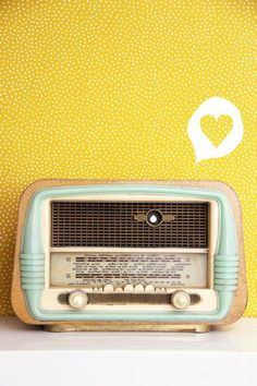 vintage radio (Blog tête dange)