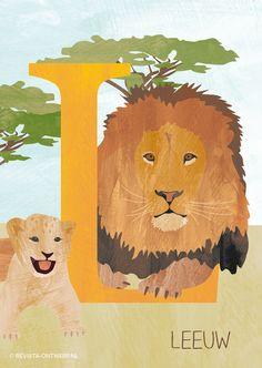 De L is van leeuw, koning der dieren!