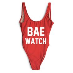 Affordable Swimwear Under $200 - Bae Watch Swimsuit, $99; at Private Party