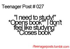 yeah! like right now! im on pinterest when i have finals next week!!!