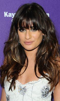Lea Michele - Hair - Color